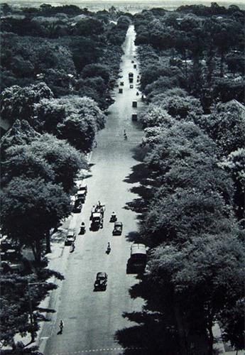 Đại lộ Norodom, nay là đường Lê Duẩn.