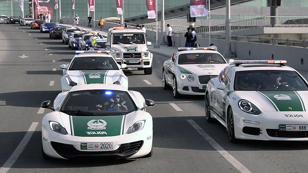 Xe cảnh sát Dubai