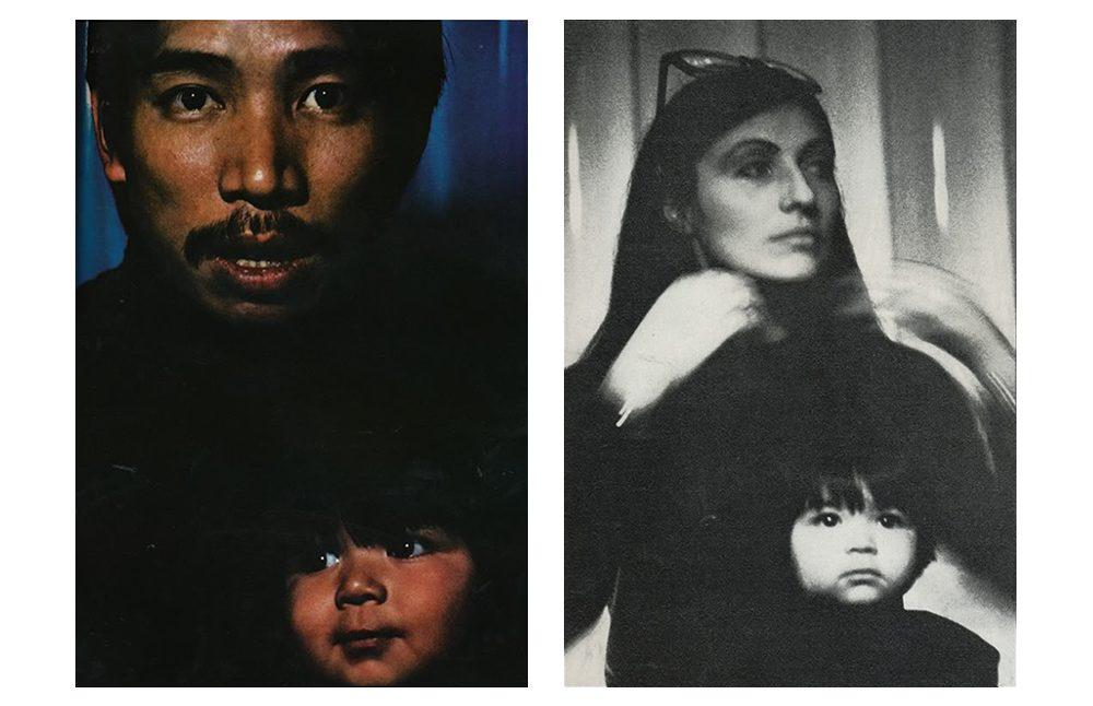 Hình chụp gia đình ông cùng vợ Emanuelle Khanh và con trai Othello Khanh được chụp bởi nhiếp ảnh gia huyền thoại người Anh David Bailey cho tạp chí Vogue UK – số tháng Hai năm 1969