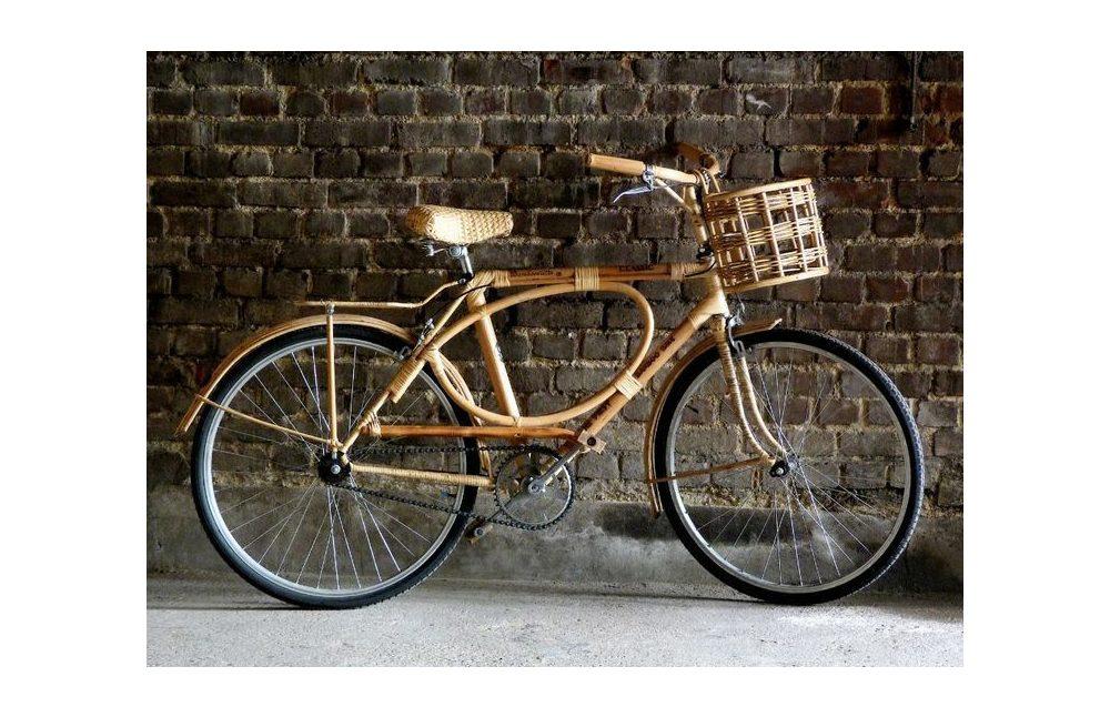 Bambooclette – loại xe đạp địa hình có khung bằng tre và mây mà ông đề xuất người Việt dùng làm phương tiện trong đô thị