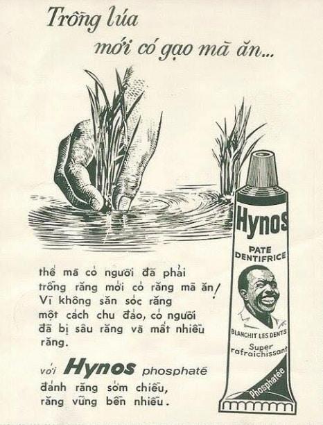 Kem đánh răng Anh bảy chà Hynos – Tiền thân P/S