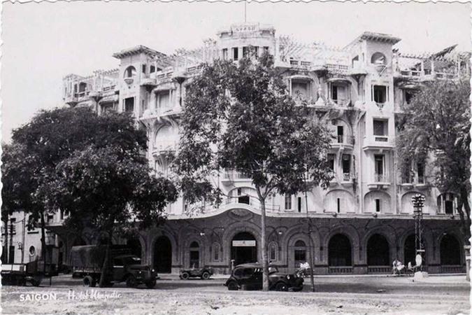 Một bức ảnh chụp khách sạn Majestic