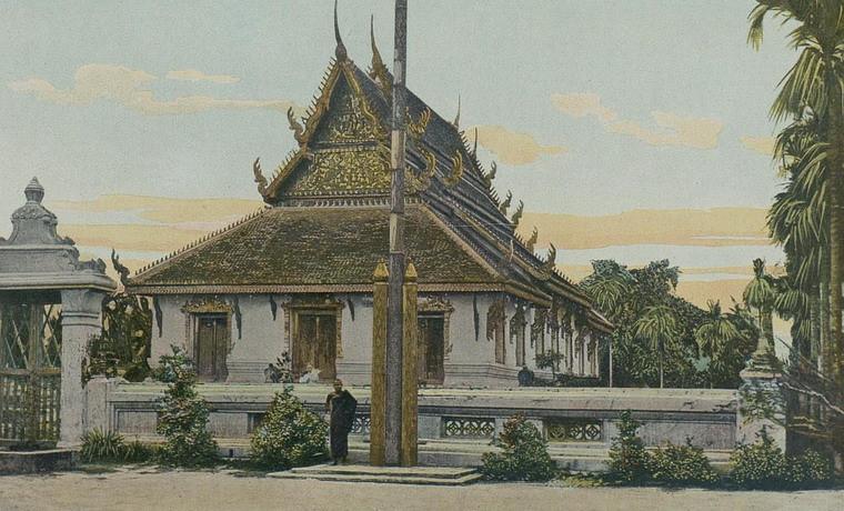 Một ngôi chùa ở Phnom Penh