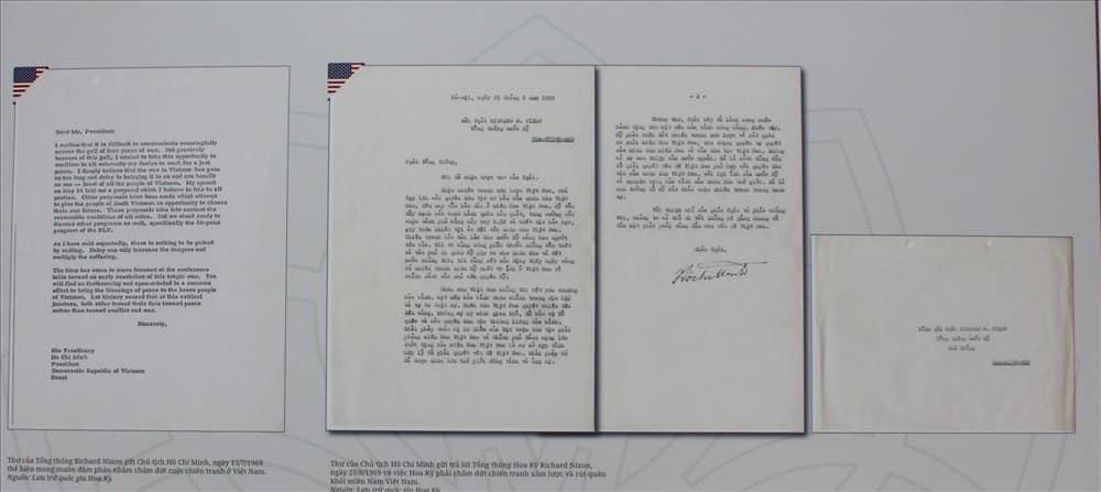 Bức thư Hồ Chí Minh gửi đến tổng thống hoa kì Nixon trong chiến tranh Việt Nam