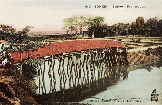đóng gói tri thức UEF KSC phan hoàng thư  Những cây cầu ngói Việt Nam một thế kỷ trước