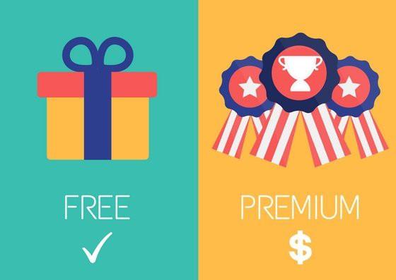 """Free + Premium = """"Freemium"""""""