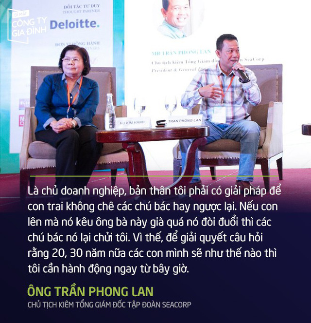 Ông Trần Phong Lan-Doanh nghiệp gia đình