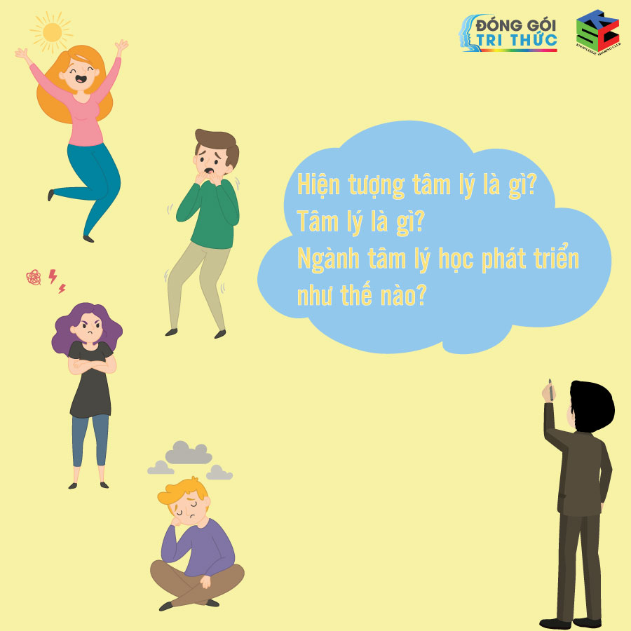Hiện tượng tâm lý là gì? Tâm lý là gì? Ngành tâm lý học phát triển như thế nào? Tâm lý ảnh hưởng đến cảm xúc của con người như thế nào?