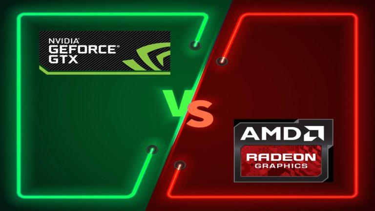 Hai màu xanh đỏ của NVIDIA và AMD
