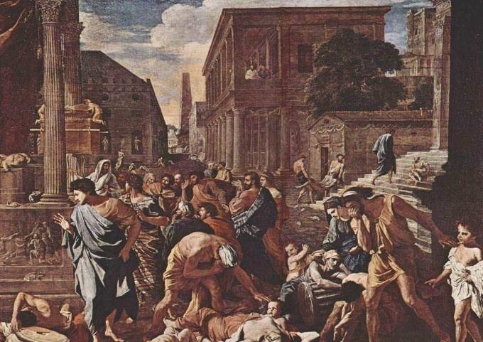 Đại dịch xuất phát từ Ethiopia, qua Libya rồi Ai Cập, sau đó tới Athens trong cuộc chiến với người Spartan