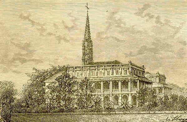 Tu viện Sainte Enfance ở Sài Gòn.