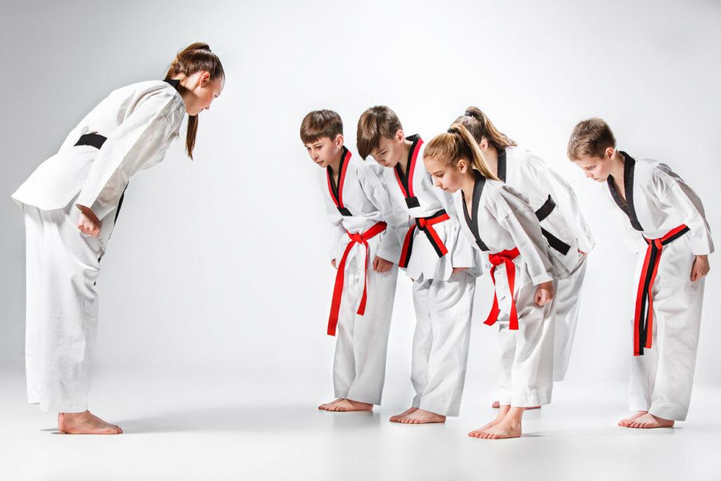 lễ chào  trong võ thuật