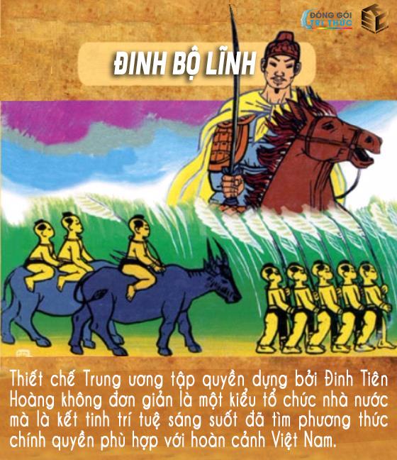 Quá trình từ chàng trai họ Đinh đến Hoàng Đế Đinh Tiên Hoàng