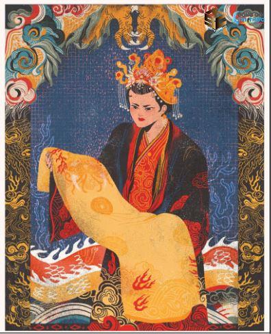 Thái hậu Dương Vân Nga đã mang hoàng bào khoác lên người của Lê Hoàn lập nên triều Lê