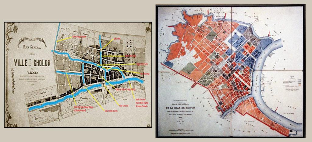 Bản đồ thành phố Chợ Lớn 1874 và Bản đồ thành phố Sài Gòn 1896 ksc-donggoitrithuc-nguyễn-trần-minh-ngọc-trần-hưng-đạo-sài-gòn-chợ-lớn-H3-1024x467