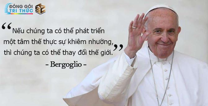 Lãnh đạo khiêm nhường - Bergoglio - Trần Thị Minh Anh - KSC - H1