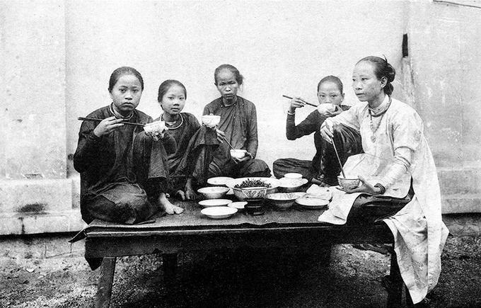 nhân học hình ảnh - Pierre - 1885- người Việt xưa