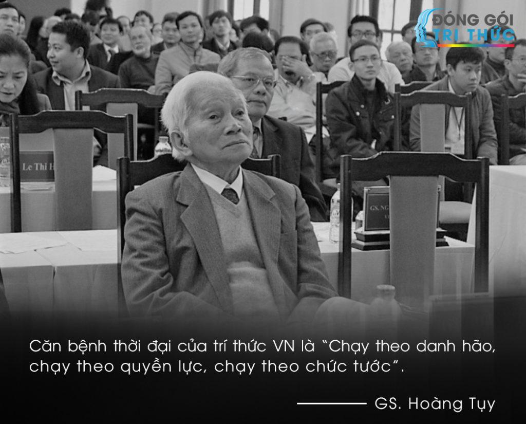 Giáo sư Hoàng Tuỵ nói về căn bệnh trí thức salon