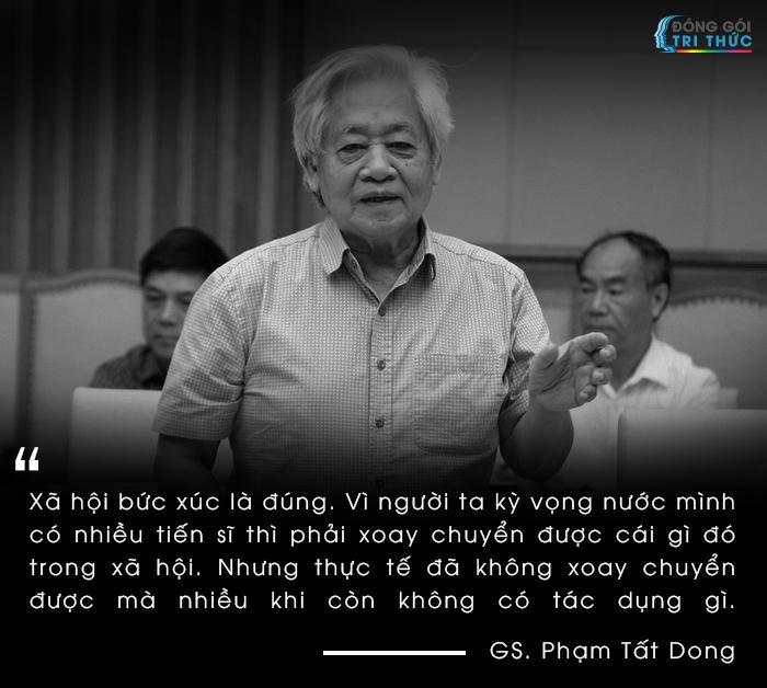 Giáo sư Phạm Tất Dong nói về căn bệnh trí thức salon