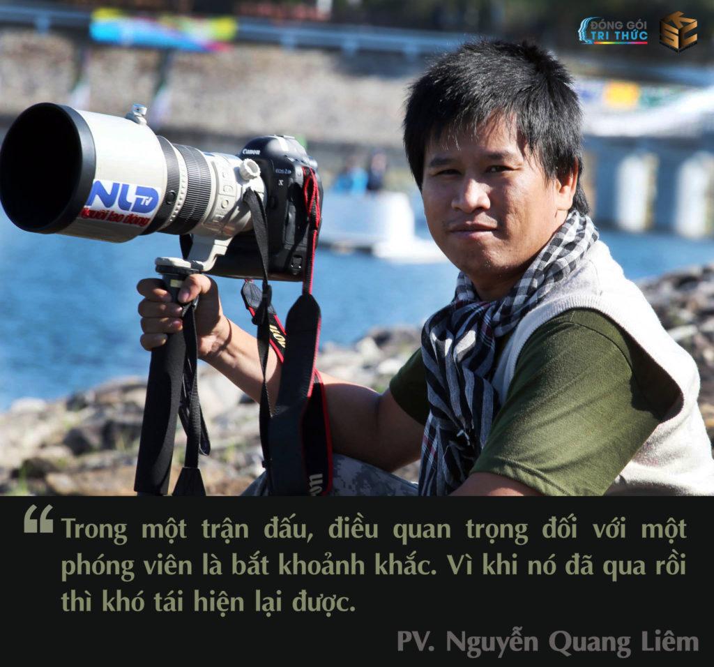 Phóng viên, nhà báo Nguyễn Quang Liêm