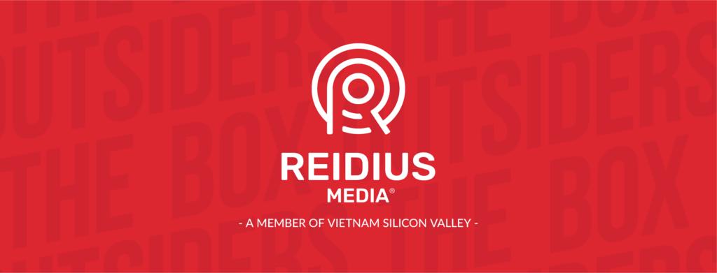 logo Reidius media một thành viên thuộc vietnam silicon valley khi start up đặt tên công ty nguyễn thị mỹ ngọc ksc