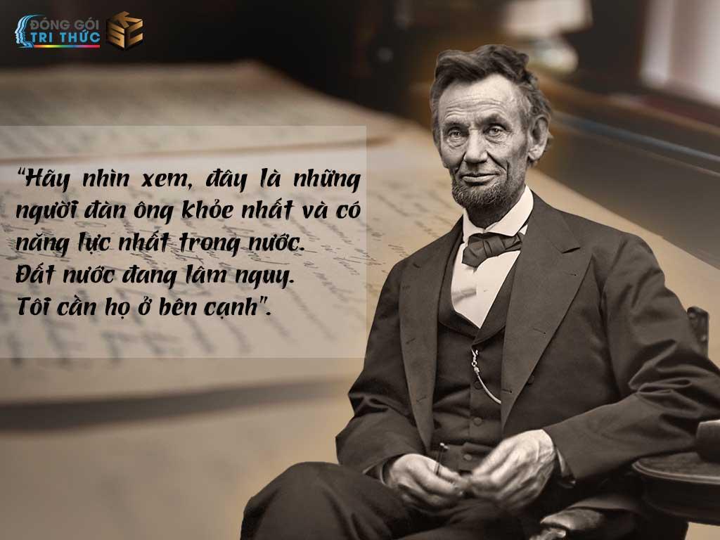 Quan điểm của Abraham Lincoln-Nguyễn Trần Minh Ngọc-KSC